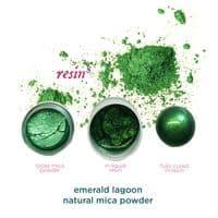 Natural Mica Powder - Emerald Lagoon
